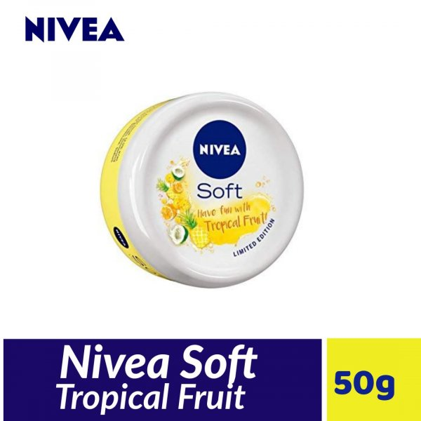 Nivea Soft Tropical Fruit 50ml MRP-85/-
