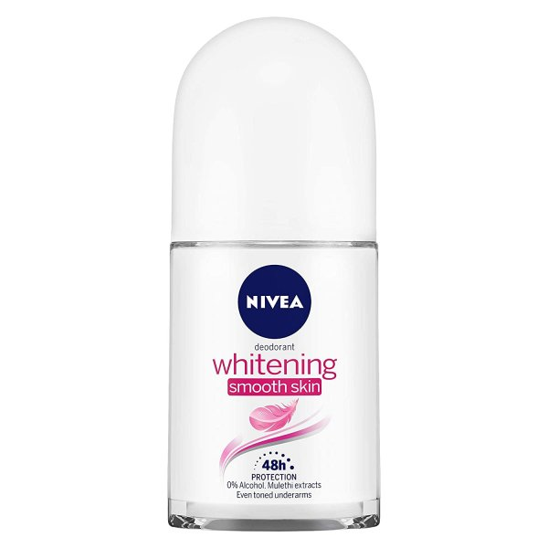 Nivea Deodorant Whitening Smooth Skin 50ml MRP-185/-