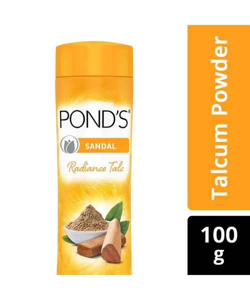 Pond's Sandal Radiance Talc Natural Sunscreen 100g MRP-99/-