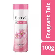 Pond's Dreamflower Fragrant Talc Pink Lily 100g MRP-90/-