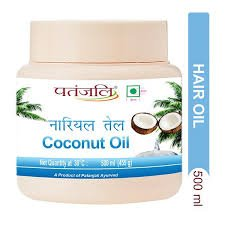 Patanjali Coconut Oil 500ml MRP-150/-