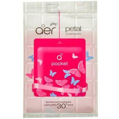 GODREJ AER POCKET PETAL CRUSH*PINK 10GM MRP 55/-
