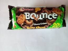 Sunfeast Bounce CHOCO Cream Biscuits 41gm MRP 5/-