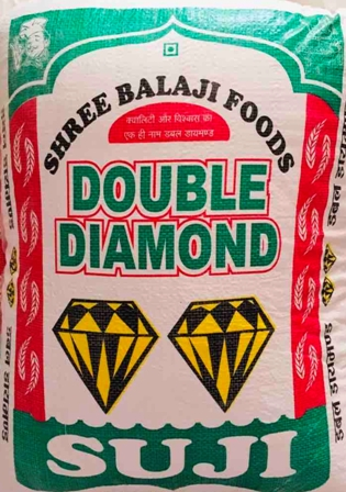 DOUBLE DIAMOND SUJI 50KG