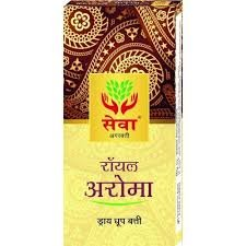 SEWA ROYAL AROMA DRY DHOOP  STICKS 20STICKS MRP 60/-