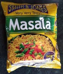 Smith & Jones Masala Noodles 60g MRP-12/- (12 PCS)