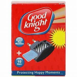 Godrej Good Knight Shakti Mat Machine + 10 Mats MRP 45/-