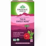 Tulsi Sweet Rose Green Tea 25N Infusion Bags MRP-148/-