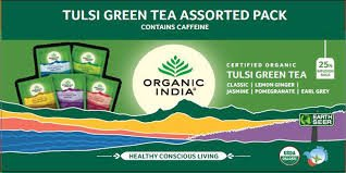 Tulsi Green Tea Assorted Pack 25N Infusion Bags MRP-184/-