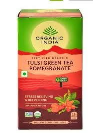 Tulsi Green Tea Pomegranate 25N Infusion Bags MRP-174/-