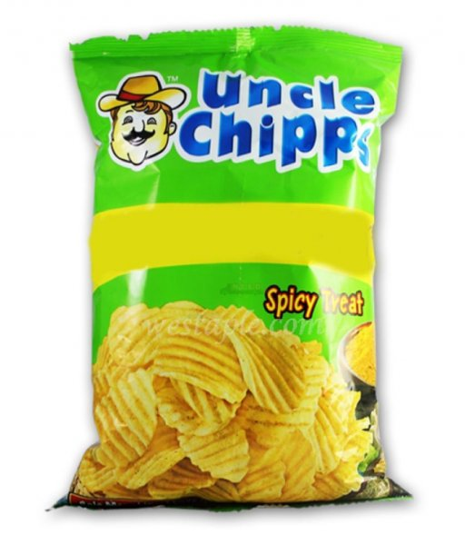 Uncle Chips Spicy Treat 30g MRP-10/- ( 100 Pcs )