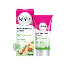 Veet Hair Removal Cream Dry Skin 30gm MRP 75/-
