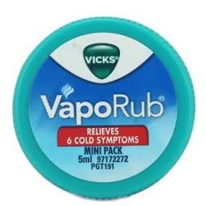 Vicks VapoRub 5ml MRP 20/-