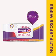 Asian Paints Viroprotek WIPE-ALL (25 SOFT WIPES)MRP-75/-