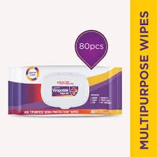 Asian Paints Viroprotek WIPE-ALL (80 SOFT WIPES) MRP-200/-