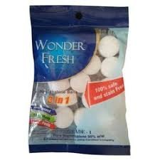 Wonder Fresh Naphthalene Balls  3 in 1 (15 Balls) MRP-40/-